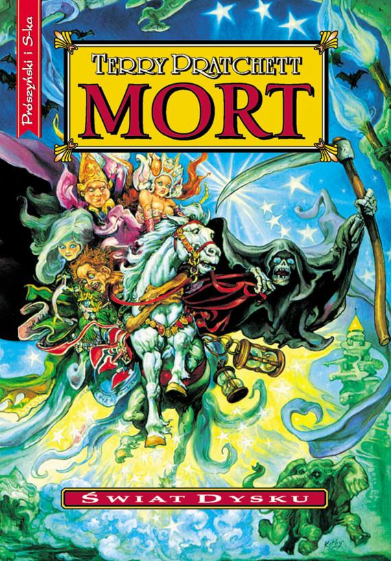 okładka Mortebook | EPUB, MOBI | Terry Pratchett