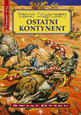 okładka Ostatni kontynent, Ebook | Terry Pratchett