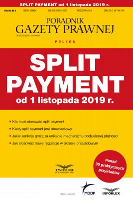 okładka Split payment od 1 listopada 2019 r., Ebook | praca  zbiorowa