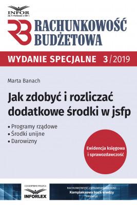 okładka Jak zdobyć i rozliczać dodatkowe środki w jsfp, Ebook | Marta Banach