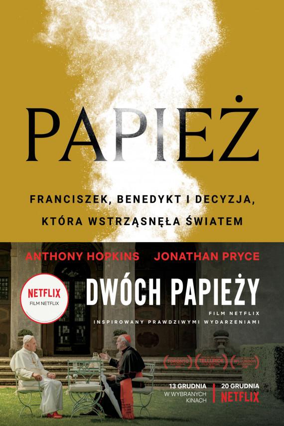 okładka Papieżebook | EPUB, MOBI | Maria Jaszczurowska, Jan Wąsiński, Anthony  McCarten