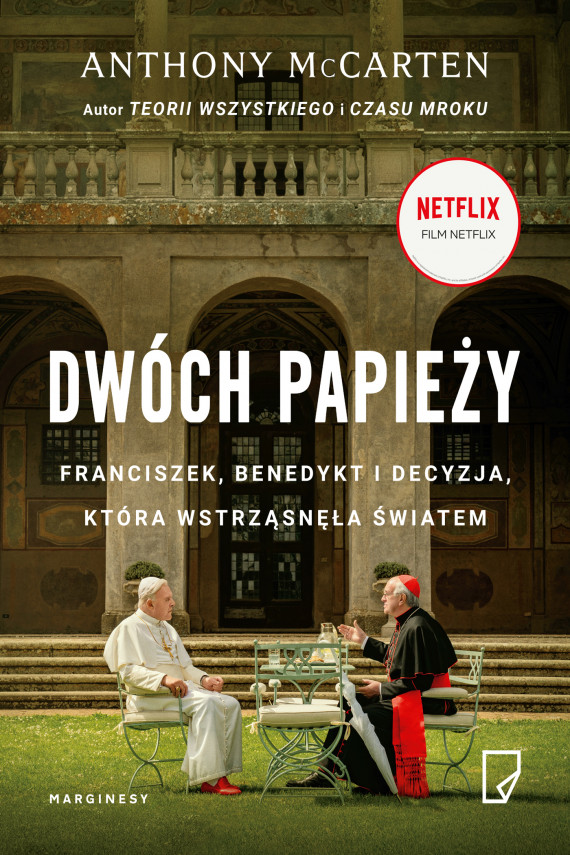 okładka Dwóch papieżyebook | EPUB, MOBI | Maria Jaszczurowska, Jan Wąsiński, Anthony  McCarten