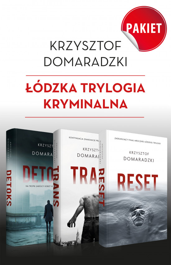 okładka pakiet Krzysztof Domaradzkiebook   EPUB, MOBI   Krzysztof Domaradzki