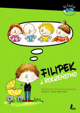 okładka Filipek i rodzeństwo, Ebook | Małgorzata Strękowska-Zaremba