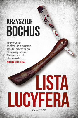 okładka Lista Lucyfera, Ebook | Krzysztof Bochus