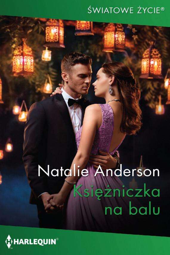 okładka Księżniczka na baluebook   EPUB, MOBI   Natalie Anderson