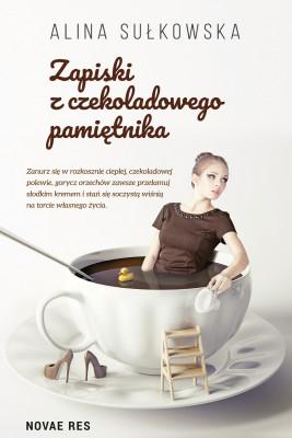 okładka Zapiski z czekoladowego pamiętnika, Ebook   Alina Sułkowska