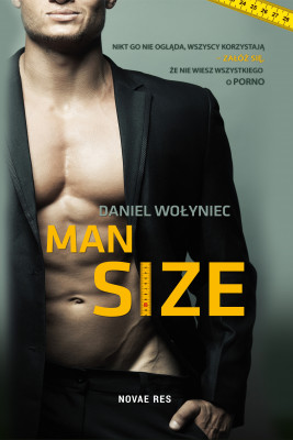 okładka Man size, Ebook   Daniel Wołyniec