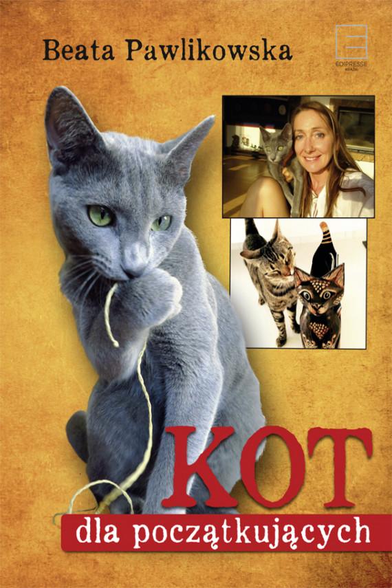okładka Kot dla początkującychebook | EPUB, MOBI | Beata Pawlikowska