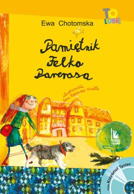 okładka Pamiętnik Felka Parerasa, Ebook | Ewa Chotomska