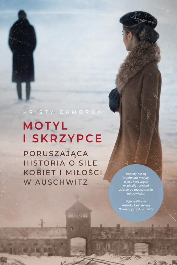 okładka Motyl i skrzypceebook | EPUB, MOBI | Kristy Cambron, Marcin Sieduszewski