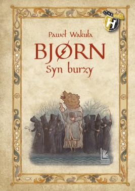 okładka BJORN Syn burzy, Ebook | Paweł Wakuła