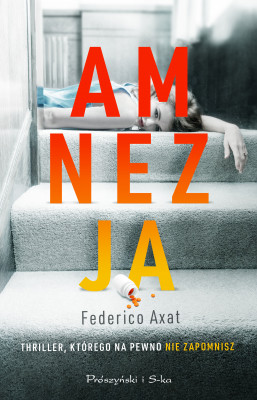 okładka Amnezja, Ebook   Federico Axat