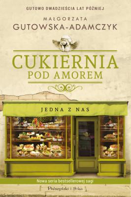 okładka Cukiernia Pod Amorem. Jedna z nas, Ebook | Małgorzata Gutowska-Adamczyk