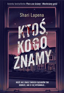 okładka Ktoś, kogo znamy, Ebook   Shari Lapeña