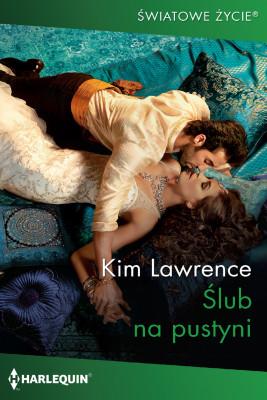okładka Ślub na pustyni, Ebook   Kim Lawrence