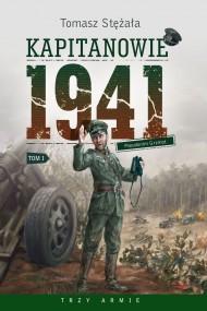 okładka Kapitanowie 1941. Ebook | EPUB,MOBI | Tomasz Stężała