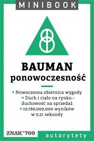 okładka Bauman [ponowoczesność]. Minibook. Ebook | EPUB,MOBI | autor zbiorowy
