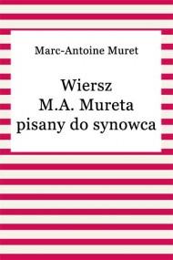 okładka Wiersz M.A. Mureta pisany do synowca. Ebook   EPUB,MOBI   Marc-Antoine Muret