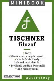 okładka Tischner [filozof]. Minibook. Ebook | EPUB,MOBI | Ks. Józef Tischner