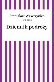 okładka Dziennik podróży. Ebook   EPUB,MOBI   Stanisław Wawrzyniec Staszic