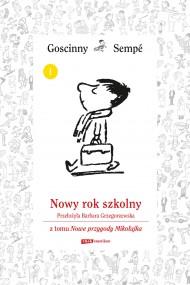 okładka Nowy rok szkolny z tomu Nowe przygody Mikołajka.  Minibook, Ebook | René Goscinny, Jean-Jacques Sempé