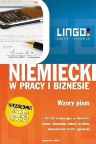 okładka Niemiecki w pracy i biznesie. Wzory pism. Ebook   Iwona Kienzler