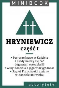 okładka Hryniewicz [teolog]. Minibook. Ebook | EPUB,MOBI | Wacław Hryniewicz OMI