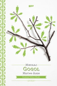okładka Martwe dusze. Ebook | EPUB,MOBI | Mikołaj Gogol