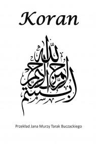 okładka Koran, Ebook | Przekład Jana Murzy Tarak-Buczackiego