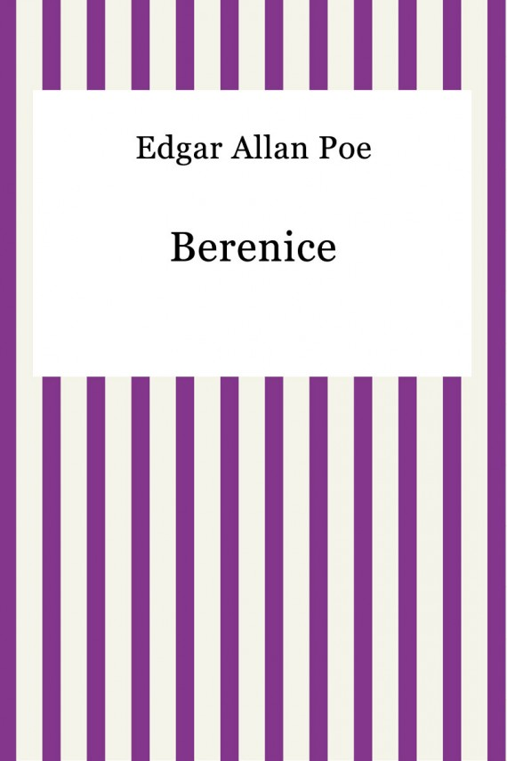 okładka Berenice. Ebook | EPUB | Edgar Allan Poe