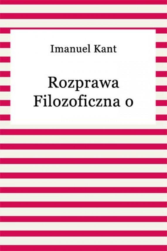 okładka Rozprawa filozoficzna o religii i moralności. Ebook | EPUB, MOBI | Imanuel Kant