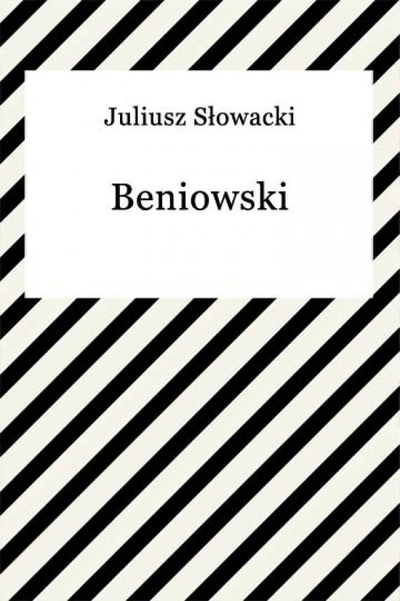 okładka Beniowskiebook   EPUB, MOBI   Juliusz Słowacki