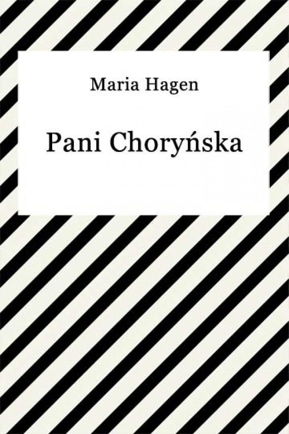okładka Pani Choryńskaebook | EPUB, MOBI | Maria Hagen