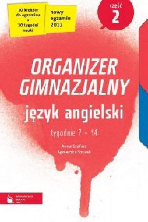 okładka Język angielski cz. 2. Organizer gimnazjalny. Ebook | EPUB_DRM, MULTI | Anna Szafarz, Agnieszka Szurek