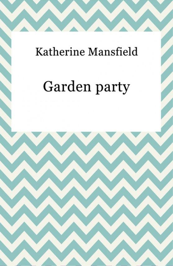 okładka Garden partyebook   EPUB, MOBI   Katherine Mansfield