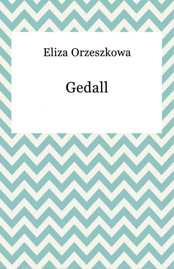 okładka Gedallebook | EPUB, MOBI | Eliza Orzeszkowa