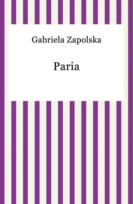 okładka Pariaebook | EPUB, MOBI | Gabriela Zapolska