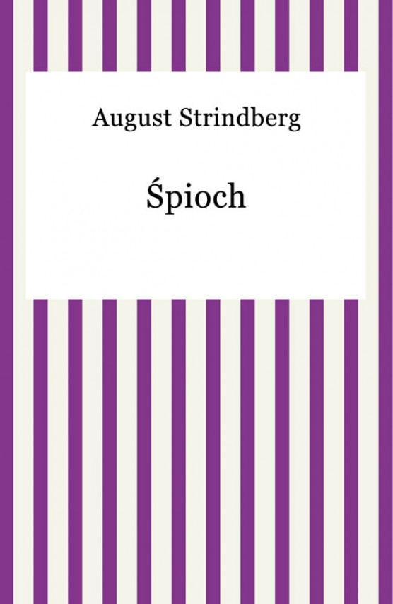 okładka piochebook | EPUB, MOBI | August Strindberg