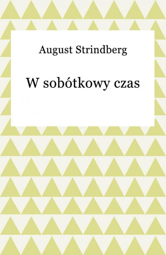 okładka W sobótkowy czasebook | EPUB, MOBI | August Strindberg