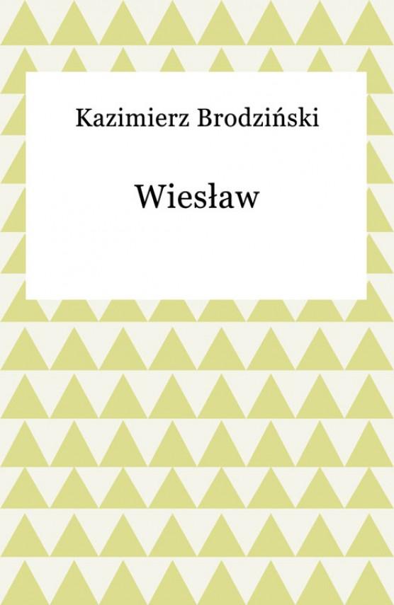 okładka Wiesławebook | EPUB, MOBI | Kazimierz Brodziński