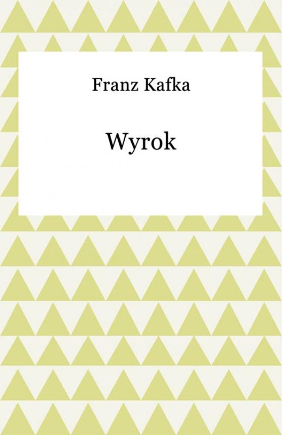 okładka Wyrokebook | EPUB, MOBI | Franz Kafka