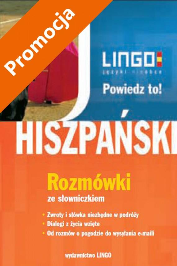 okładka Hiszpański. Rozmówki. Powiedz to!ebook | PDF | Justyna Jannasz