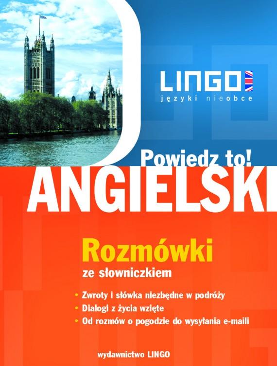 okładka Angielski. Rozmówki. Powiedz to!ebook   PDF   Agnieszka Szymczak-Deptuła