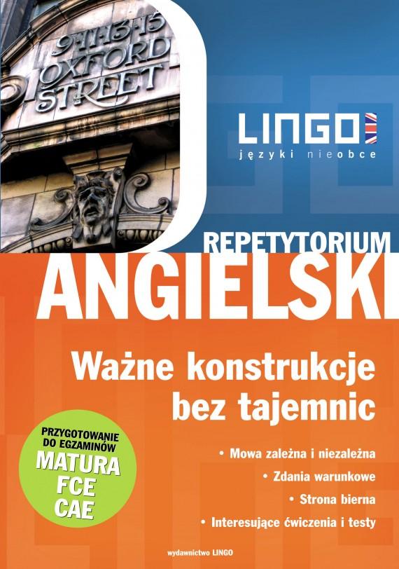 okładka Angielski. Ważne konstrukcje. Ebook | PDF | Anna Treger