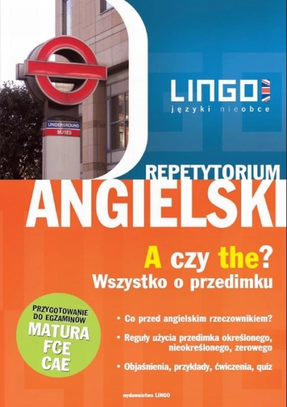 okładka Angielski. A czy the? Wszystko o przedimkuebook | PDF | Anna Treger
