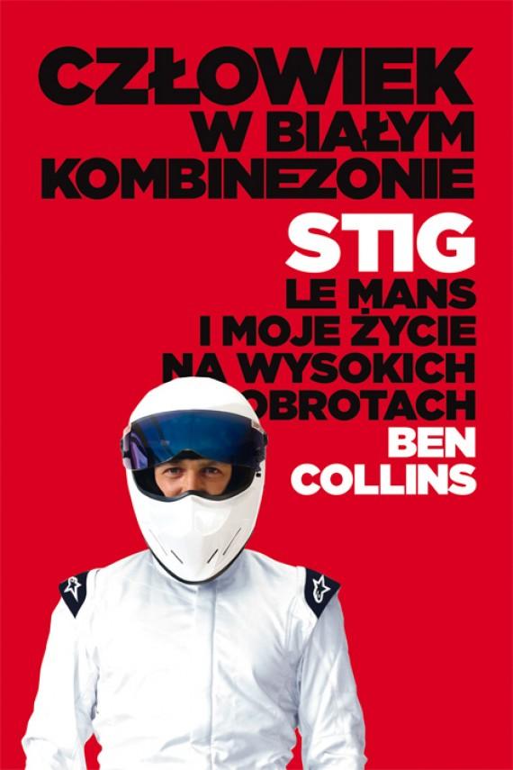 okładka Człowiek w białym kombinezonie. Ebook | EPUB, MOBI | Ben Collins