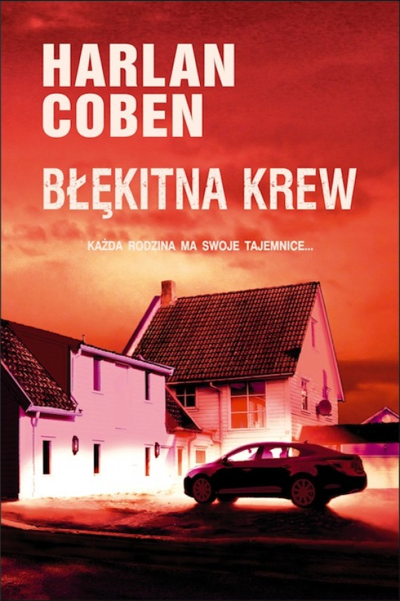 okładka Błękitna krewebook | EPUB, MOBI | Harlan Coben