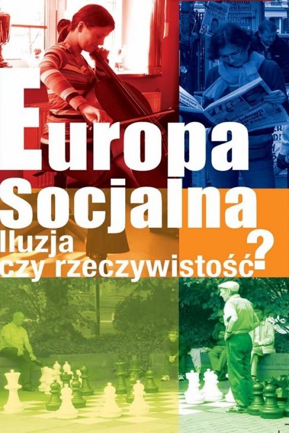 okładka Europa socjalna. Ebook | PDF | Włodzimierz Anioł, Piotr Zawadzki, Maciej Duszczyk
