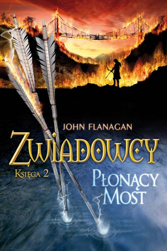 okładka Zwiadowcy  2: Płonący mostebook   EPUB, MOBI   John Flanagan